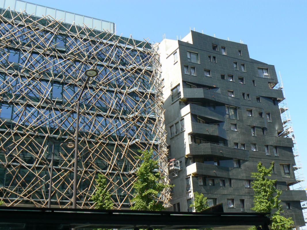 Bureaux, 70 logements, commerces