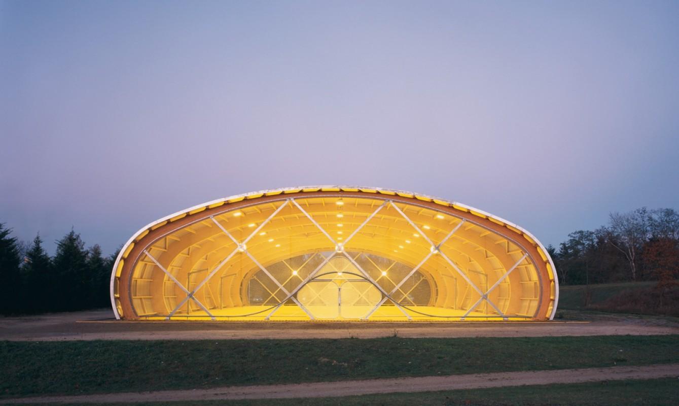 Couverture d'une aire sportive
