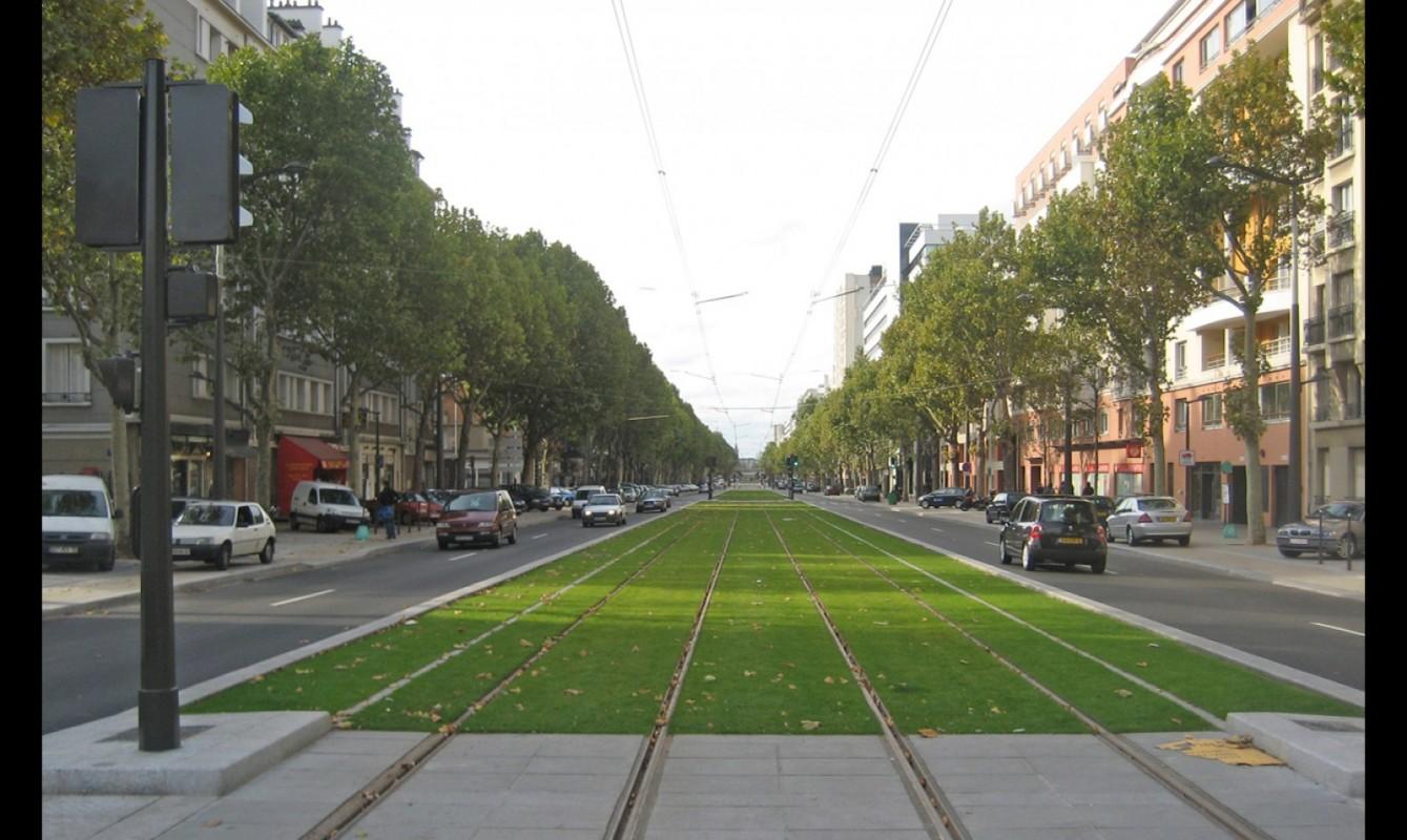 Aménagement urbain du Tramway des Maréchaux Sud T3