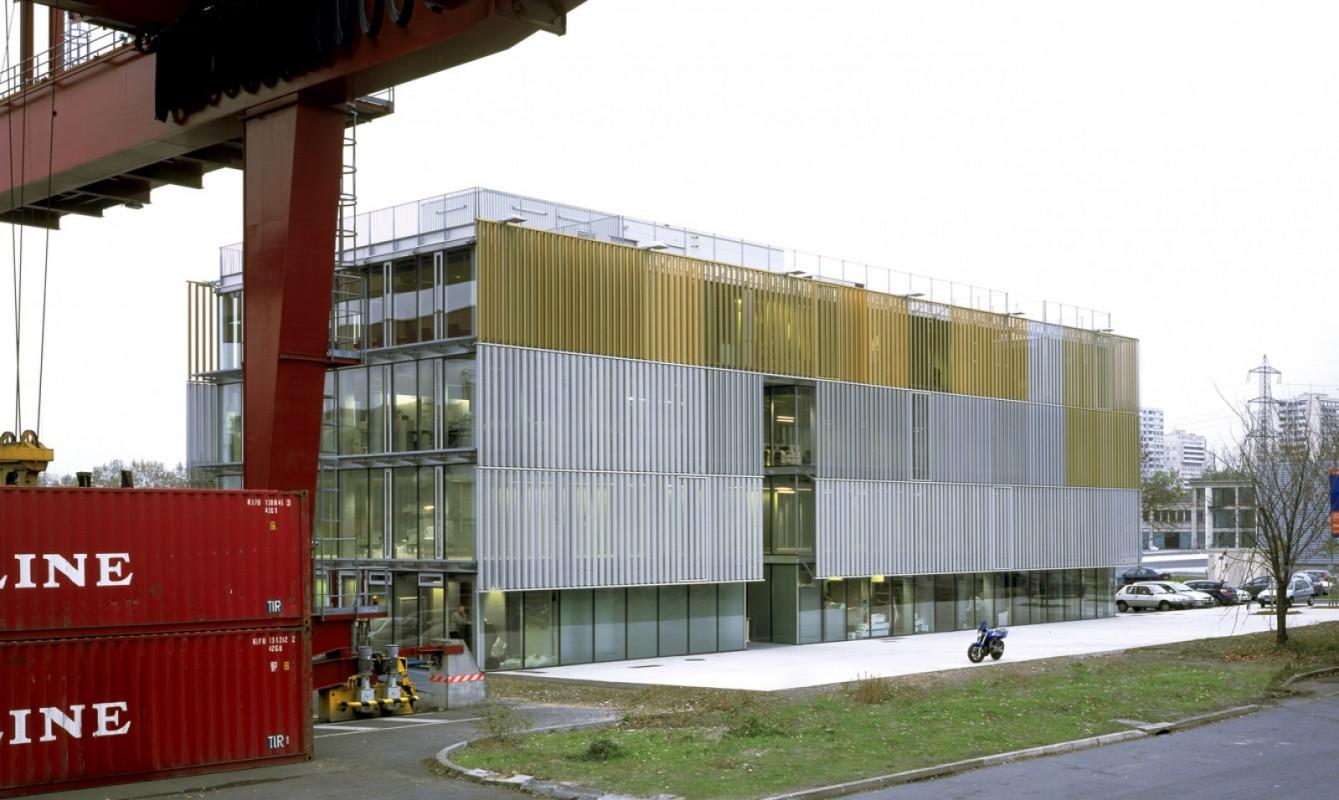 Centre de gestion des conteneurs Bâtiment A1