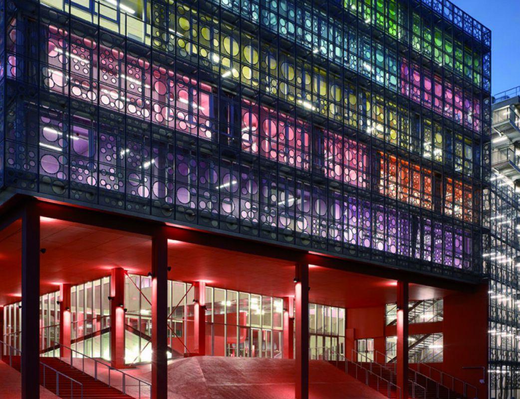 Atrium / Université Pierre Et Marie Curie Paris 6 / Campus de Jussieu