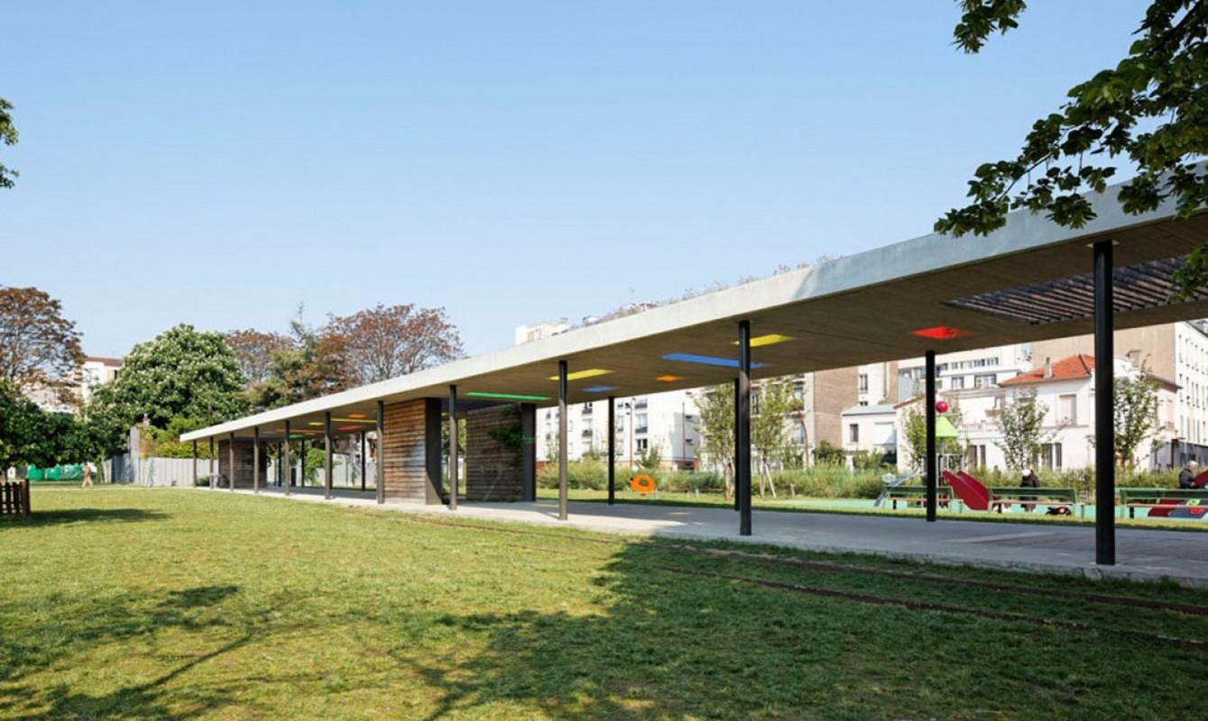 Aménagement du Parc Lucie Aubrac