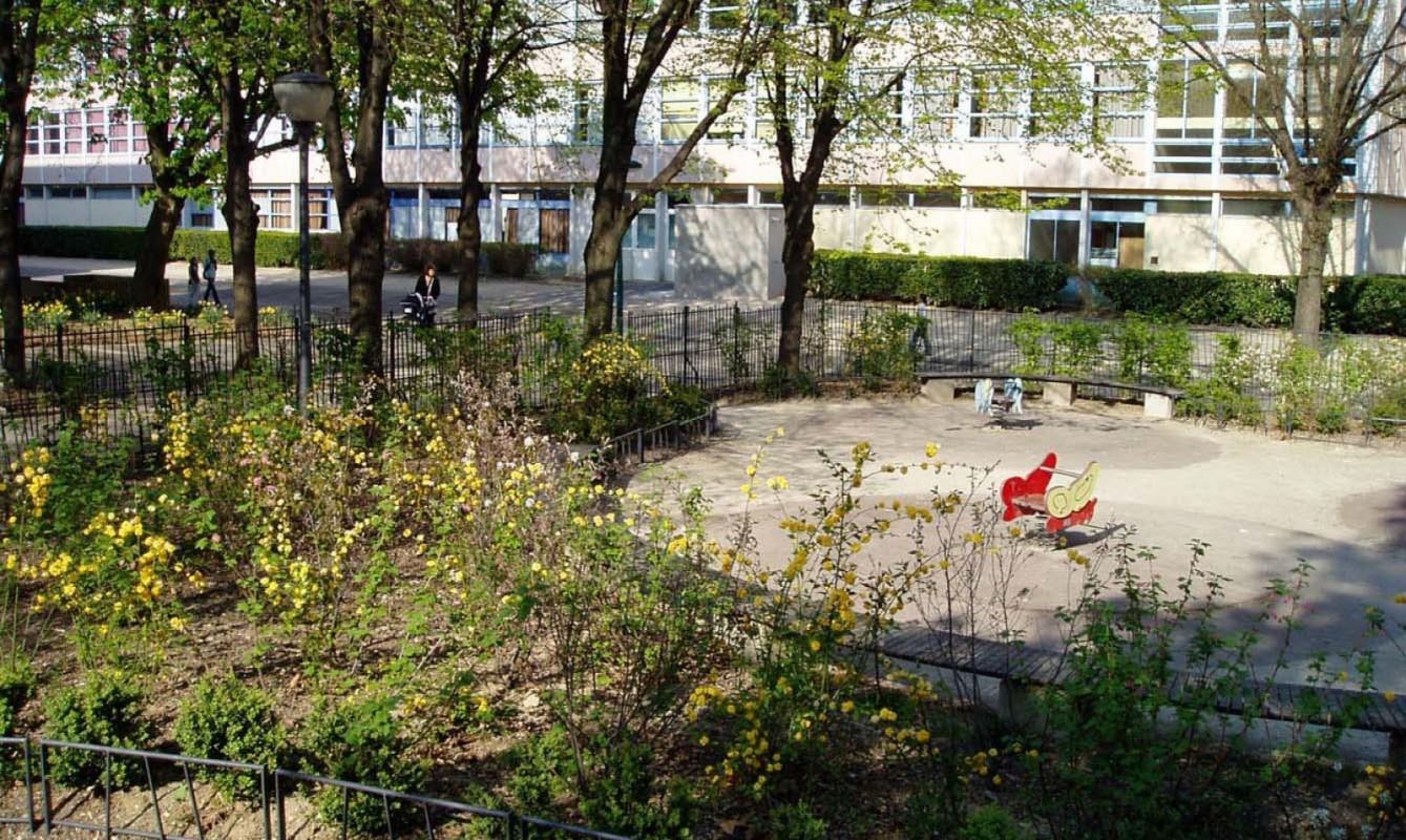 Restructuration des espaces extérieurs du site Massy