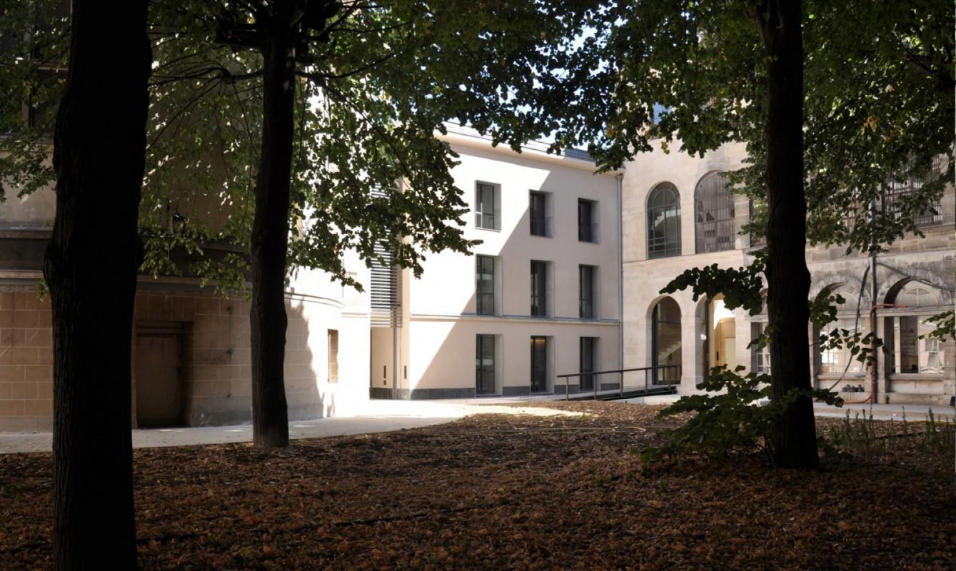 Hôpital Saint-Lazare - Le carré historique