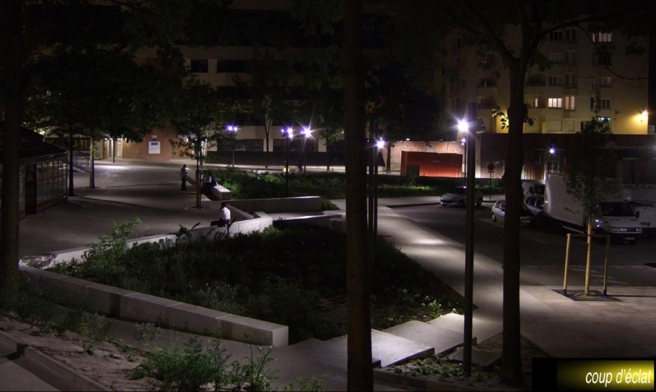 Requalification des espaces publics du centre d'Évry