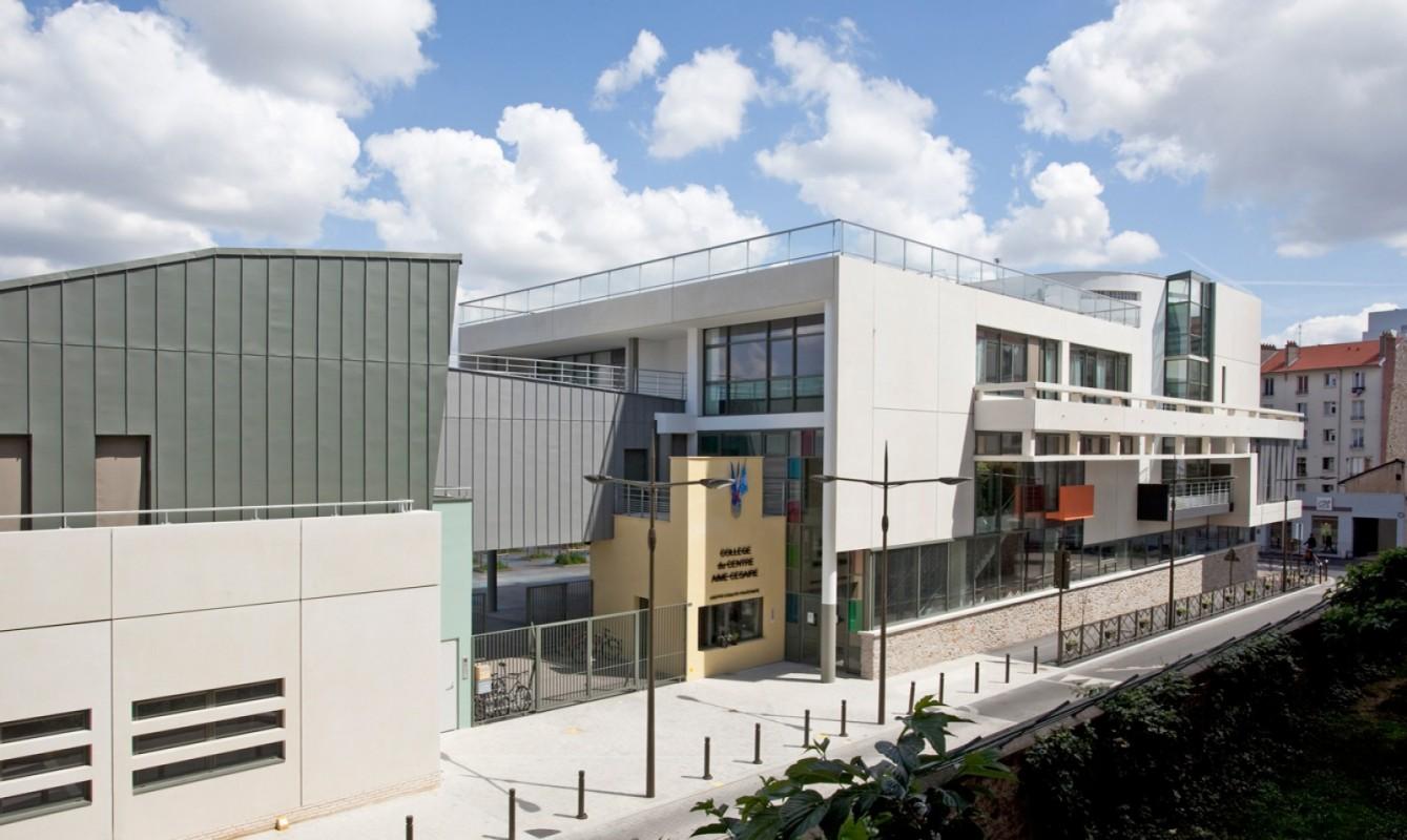 Reconstruction du collège Le Centre Aimé Césaire et construction d'un CIO