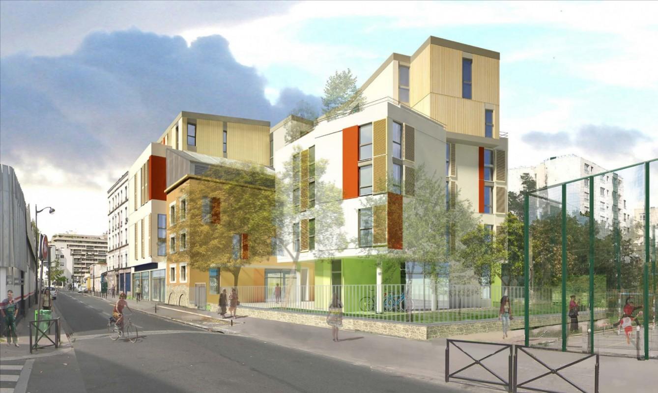 Démolition-reconstruction et réhabilitation d'une résidence étudiante