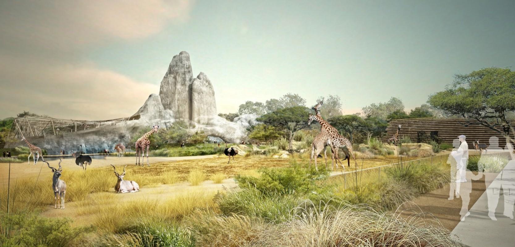Rénovation du parc zoologique de Paris