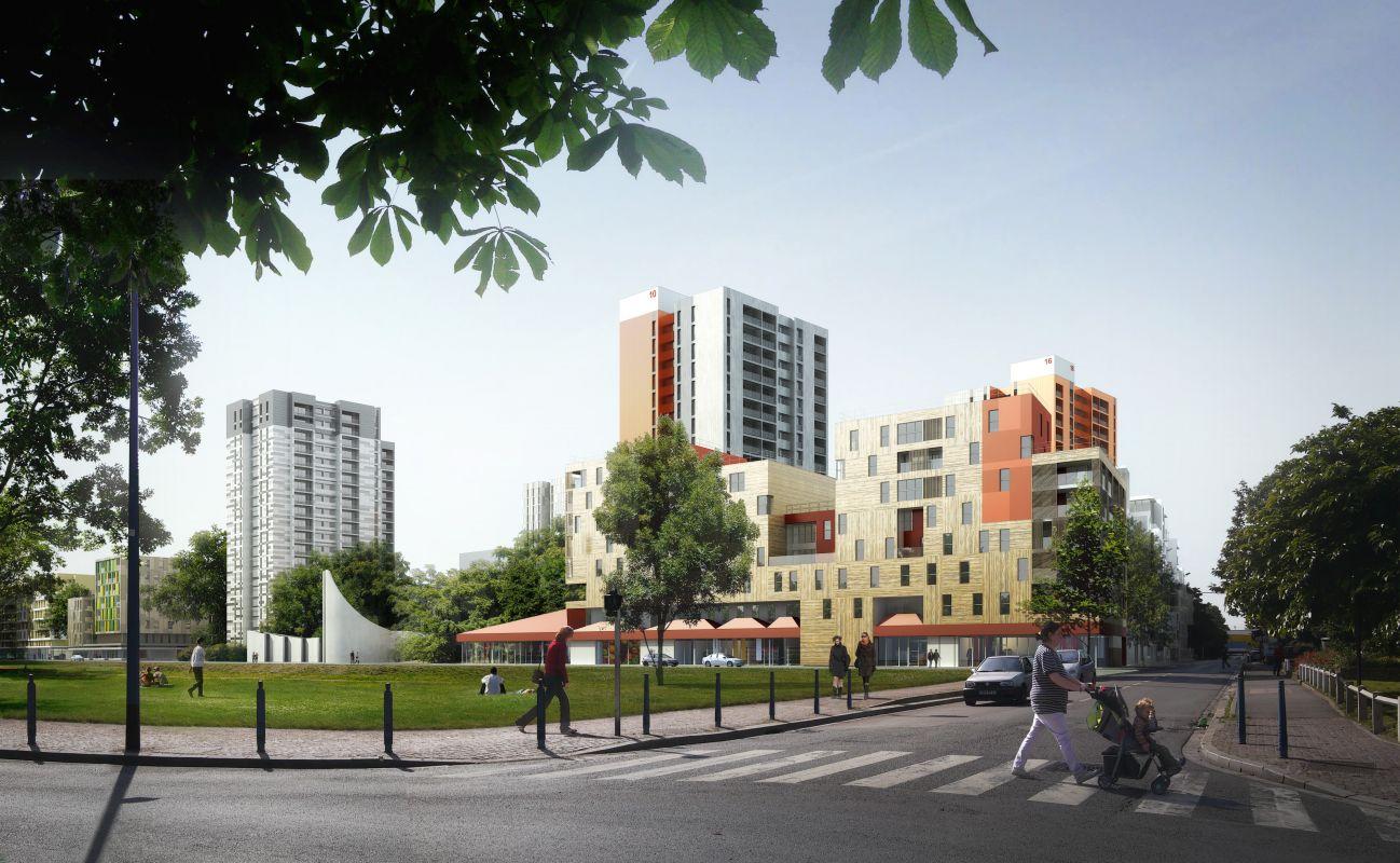 Quartier Karl Marx (Centre Ville)