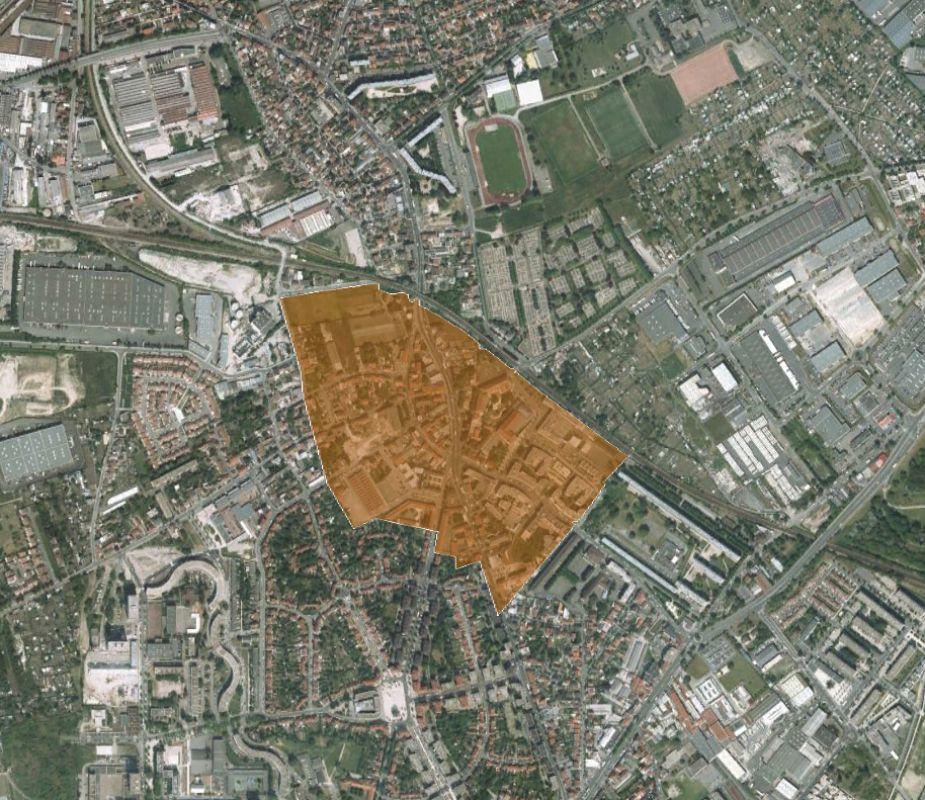 Centre-ville de Stains