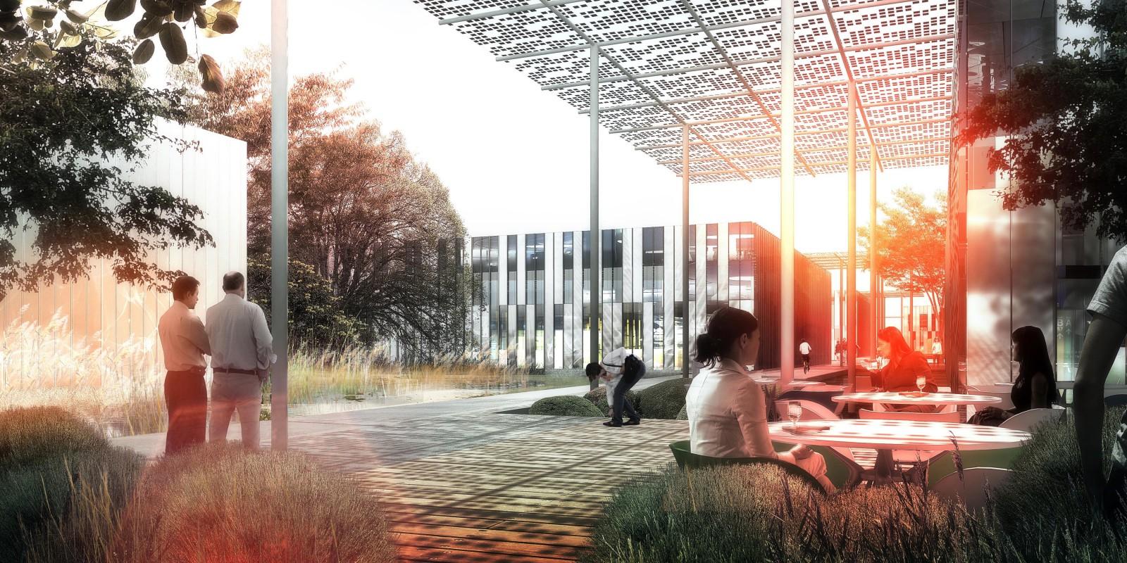 Futur campus du SIAAP du site SAV