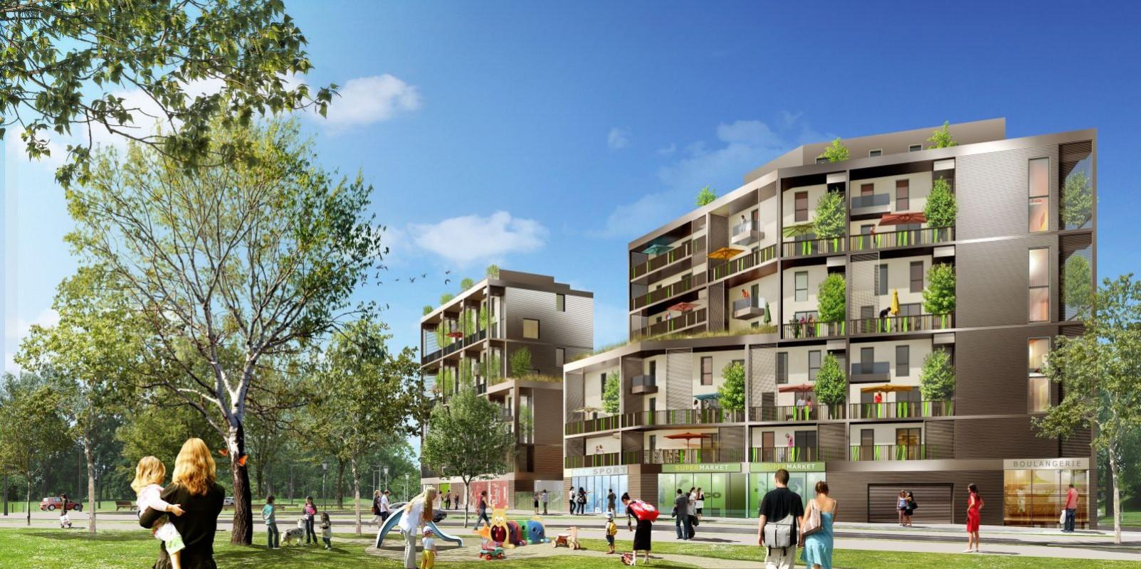 110 logements, Villarborea