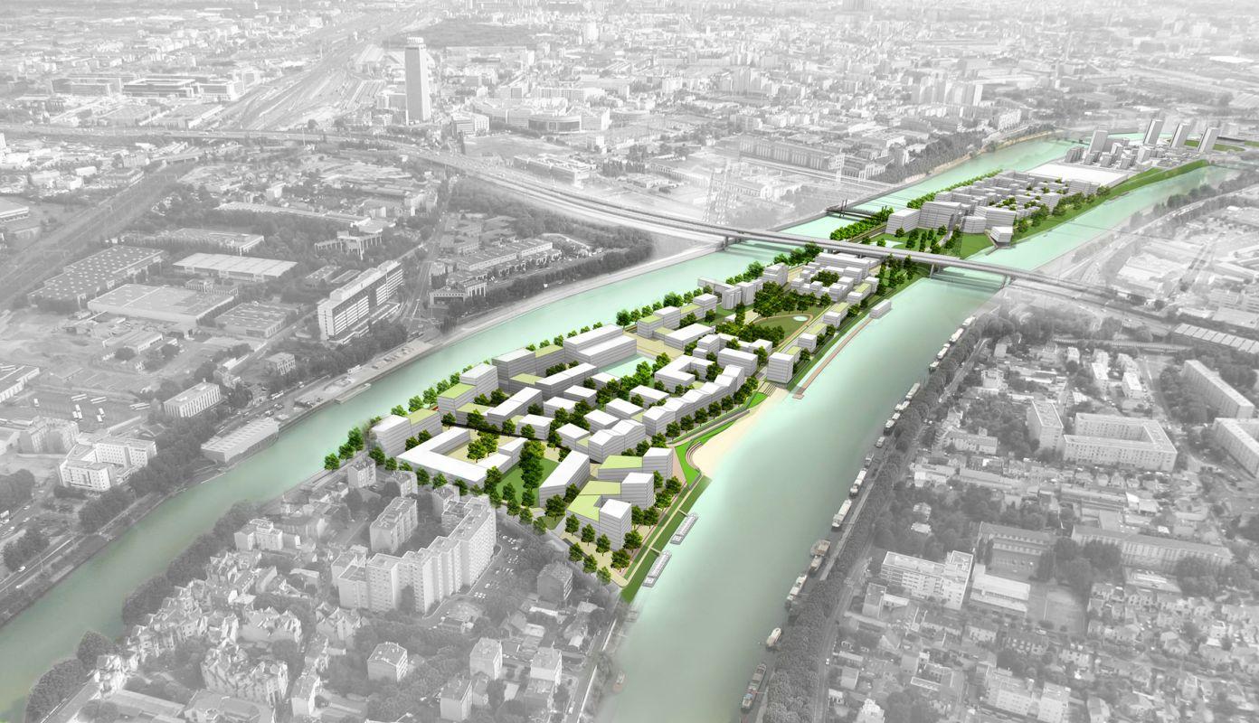 Éco-quartier fluvial de L'Île-Saint-Denis