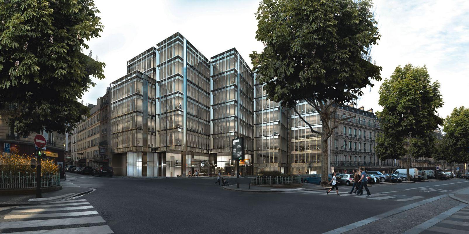 Rénovation d'un immeuble de bureaux