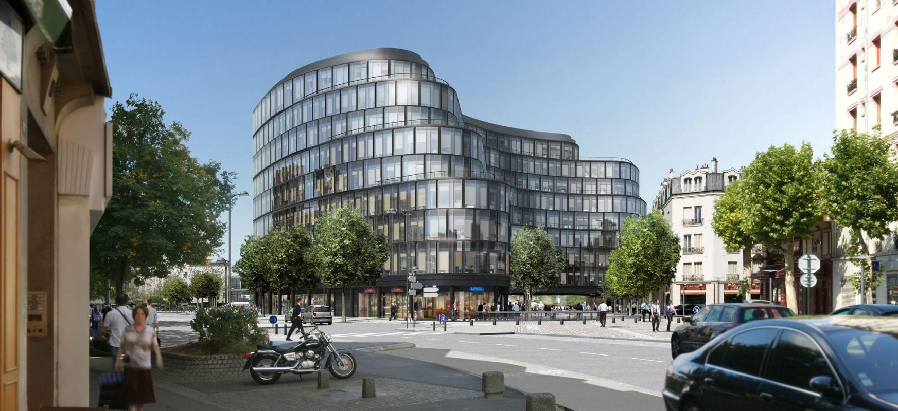Immeuble de bureaux Belgique