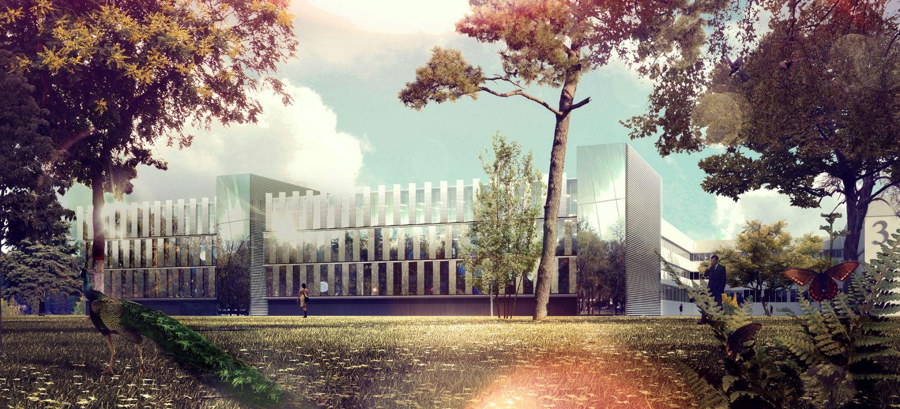 Extensions des laboratoires de l'Ecole Polytechnique