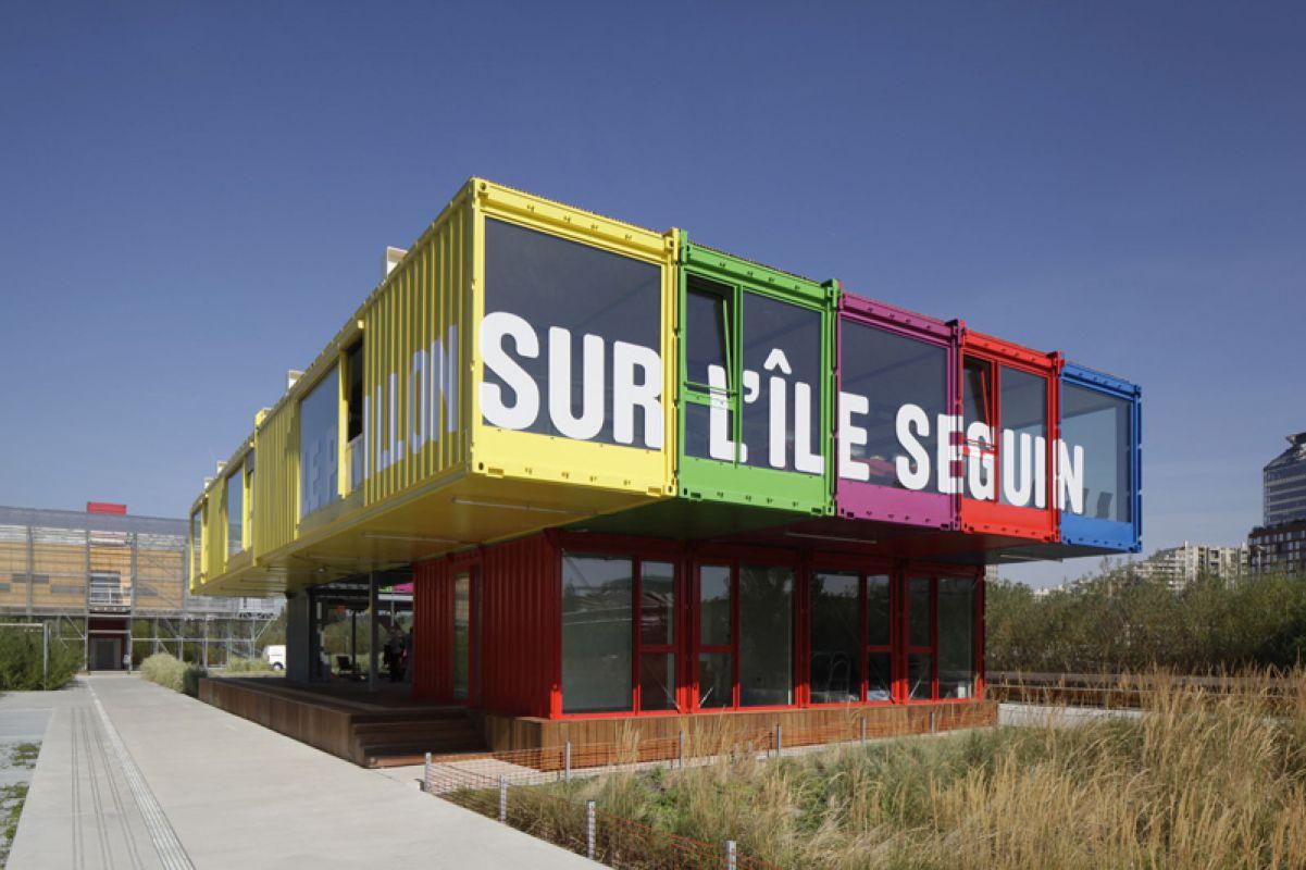Le Pavillon d'information de l'Ile Seguin