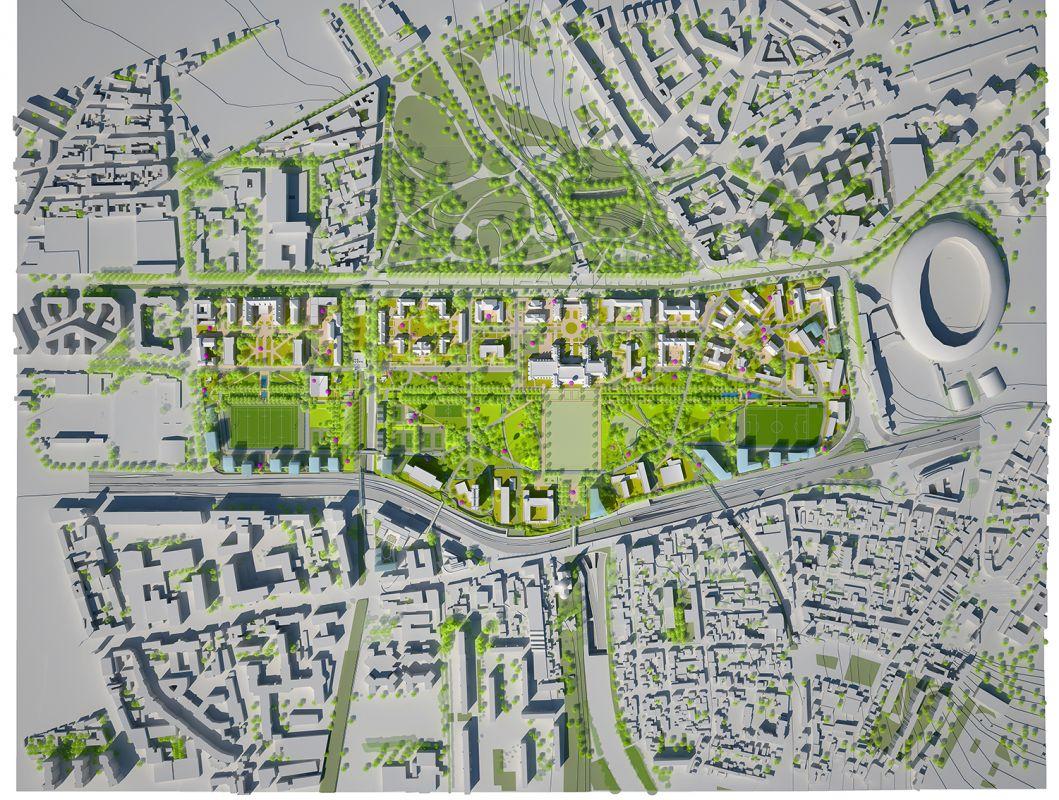 Projet de développement de la Cité internationale universitaire de Paris