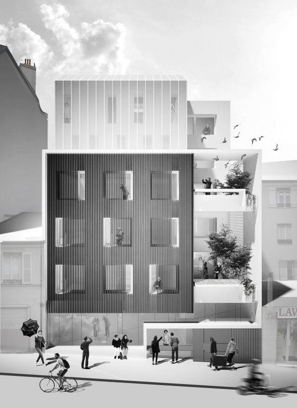 La serre habitée - archiculture urbaine