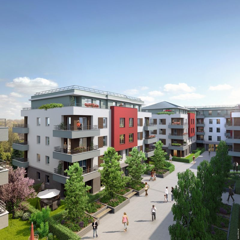 Eco-quartier Belles Rives - Bas Noyer
